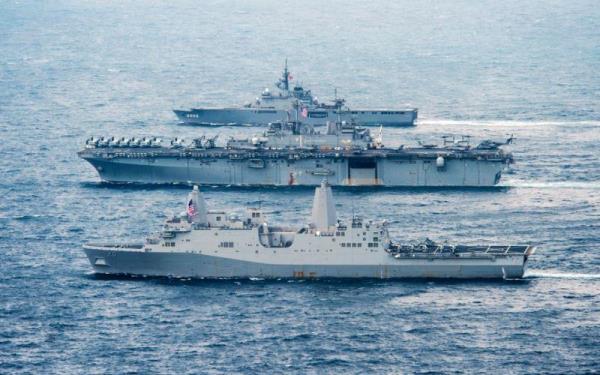 Latihan Angatan Laut AS dan Jepang