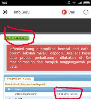 Info GTK Terbaru Untuk Cek SKTP Tahun 2018 di SIM PKB Guru