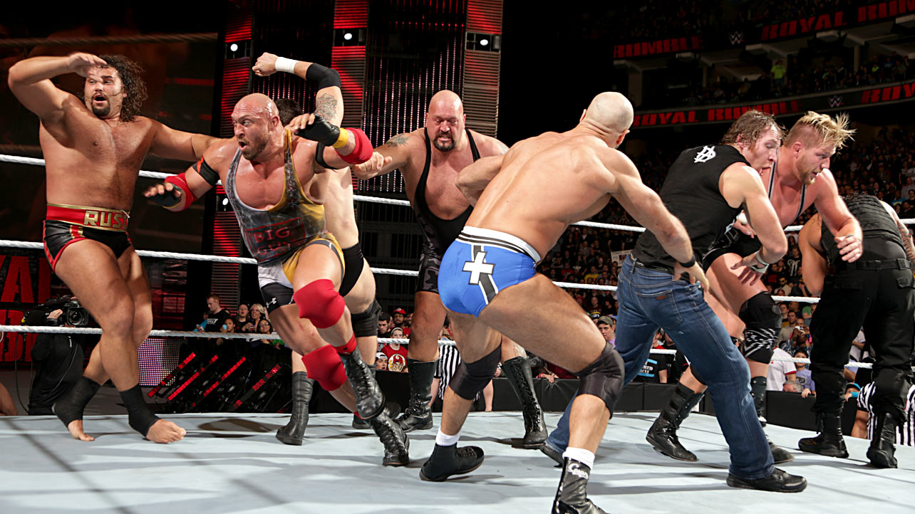 WWF Royal Rumble 2001: Full Match Video - ReVideOn