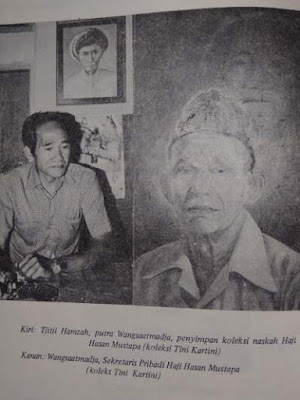 Sekretaris pribadi Haji Hasan Mustapa