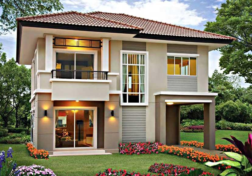 80 Gambar Rumah 2 Lantai 200 Jutaan Terbaik