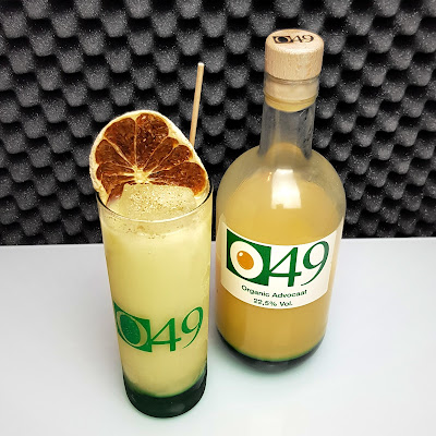 J&C's - O49 Organic Advocaat_served_2 - Snowball Highball