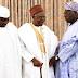 EX-President of Nigeria, Olusegun Obasanjo visits former Pres. Shagari