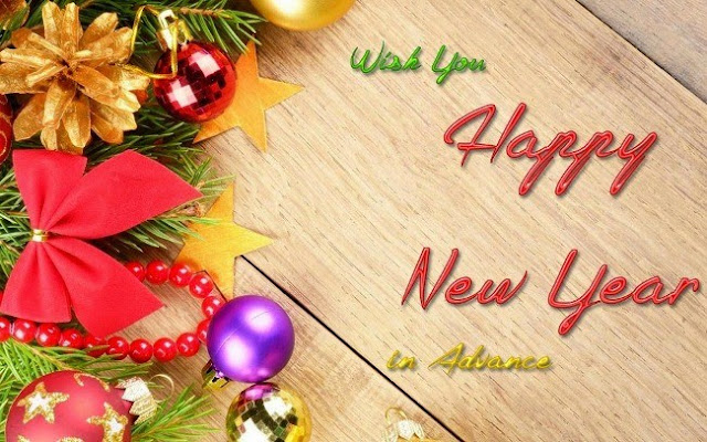 New Year Photos in Advance for Whatsapp