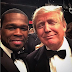 ENTERTAINMENTS: 50 Cent Shares Photos With US Presidential Candidates & Throw At Shades Bernie Sanders!