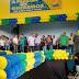 Evento do PSDb lota ginásio de esporte cole gio da Luz em Guarabira na manhã deste domingo