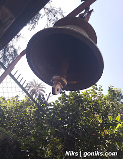 bells at a temple in abu