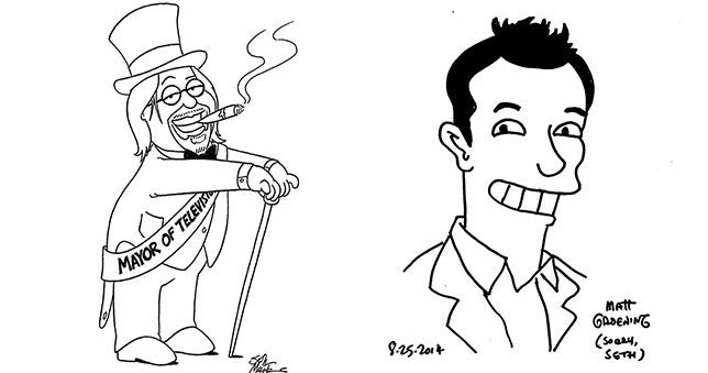 Tamerlane's Thoughts: Matt Groening and Seth MacFarlane