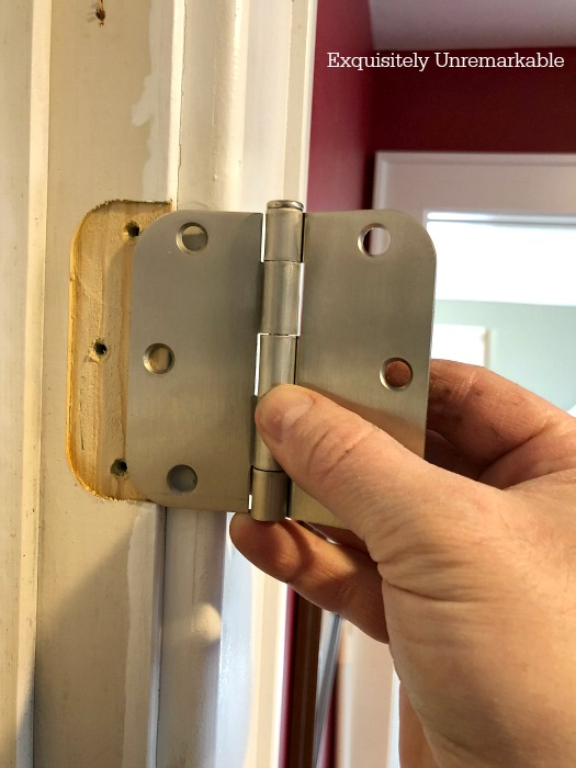 How To Replace An Interior Door Hinge