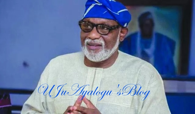 I Didn't Ask Workers to Forgo Salary Arrears - Ondo Governor, Akeredolu