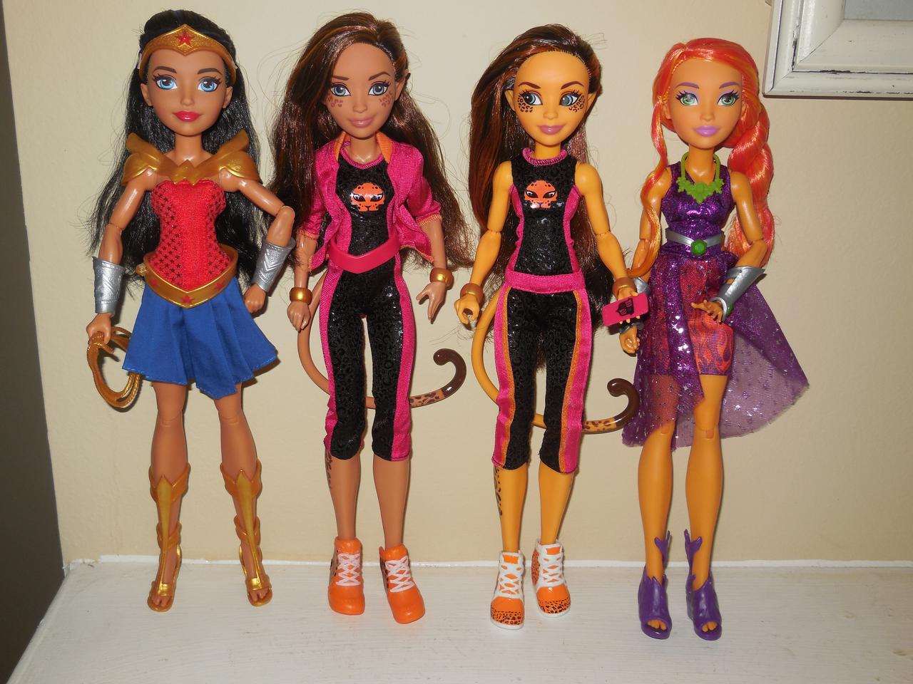 DC Super Hero Girls Cheetah Fashion Doll