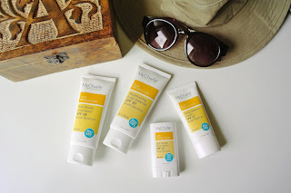 Mychelle sun protection sunscreen review spf 50 spf 30 spf 17 spf 28