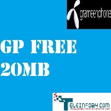 Grameenphone 20 MB Free
