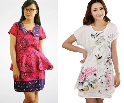 14 Contoh Gambar Model Baju Terusan Terbaru 2020