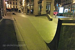Skatepark Leon Cladel Paris éclairé