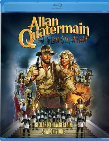 Poster Of Allan Quatermain and the Lost City of Gold 1986 English 300MB BRRip 480p Free Download Watch Online