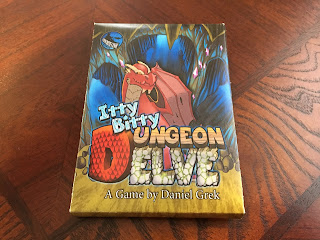 Itty Bitty Dungeon Delve by Concrete Canoe Box Art Cover Card Game