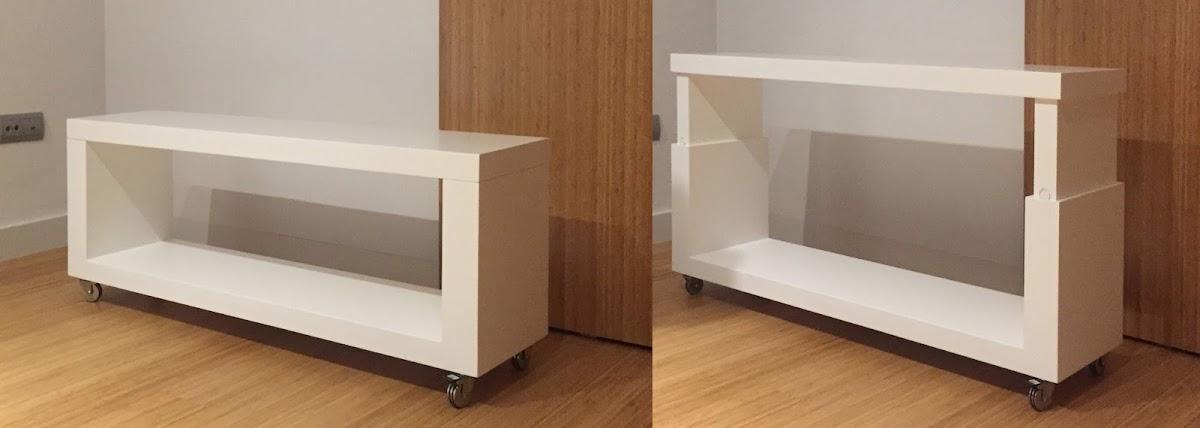 Ahorra espacio con muebles de madera espacios en madera - Muebles ahorra espacio ...