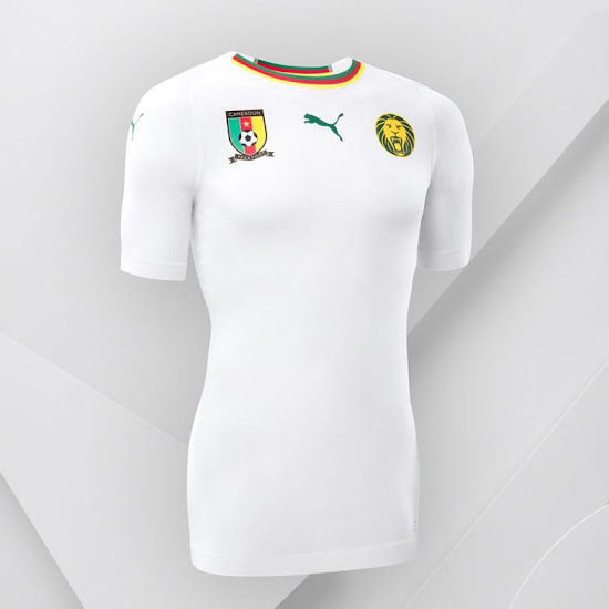 Cameroon 2018 Away Kit Revealed - Footy Headlines c236a9f9c