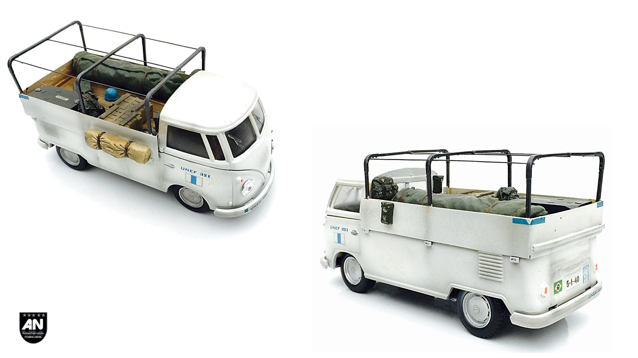 Armas Nacionais Modelismo Historia Volkswagen Kombi Modelo 261