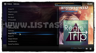 "Como Instalar o Add-on ""RegioTrip V3"" no KODI - TV Ao Vivo, Filmes, Séries e Rádios"