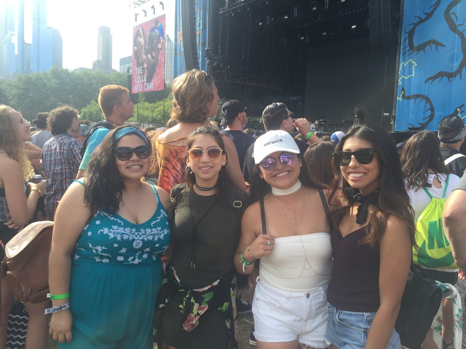 music festival fun