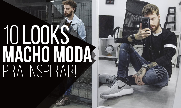 Macho Moda - Blog de Moda Masculina  Look Macho Moda  10 Looks do ... e168aa14192c1