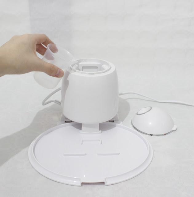 Meapure® Steamer Plastimea Maquina mascarilla hidrogel colageno