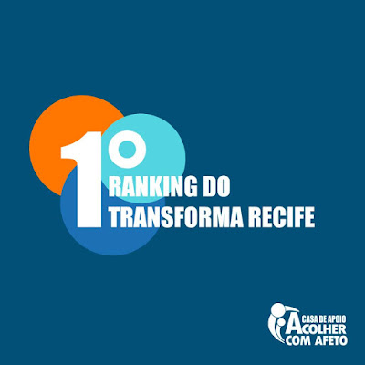 1º Ranking do Transforma Recife