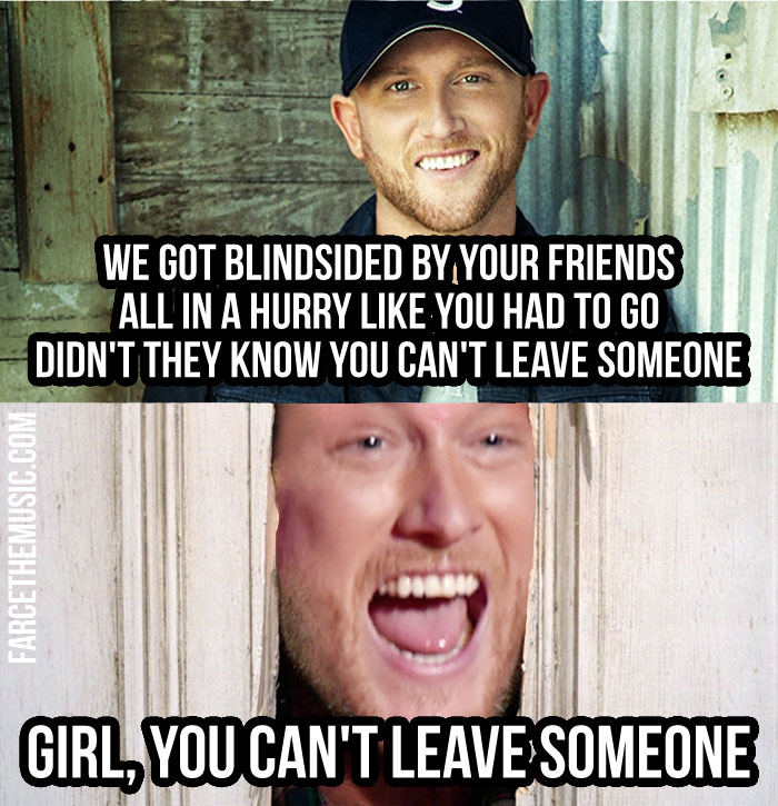 Farce the Music: Cole Swindell is Kinda Scary Y'all