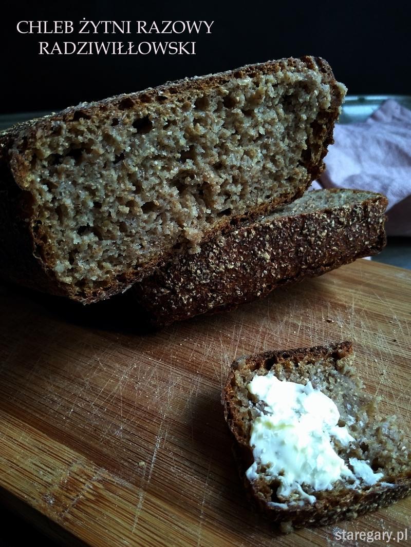 Chleb żytni razowy radziwiłłowski na zakwasie - wrześniowa piekarnia