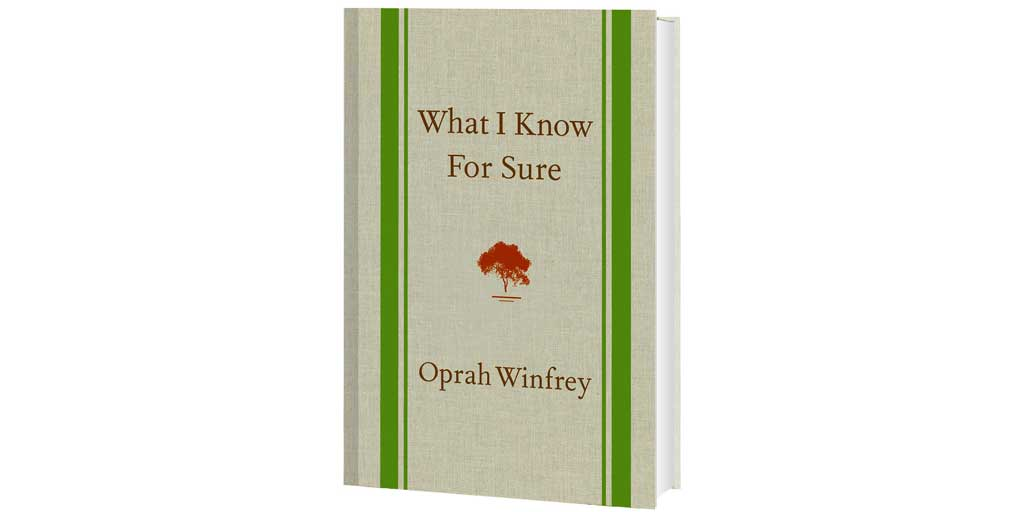 What I Know For Sure by Oprah Winfrey book photo