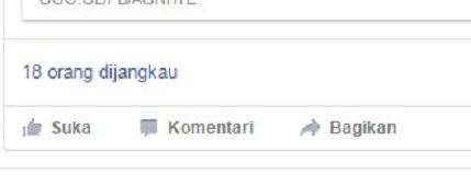 Penyebab Jangkauan Orang di Fanspage Facebook Sedikit