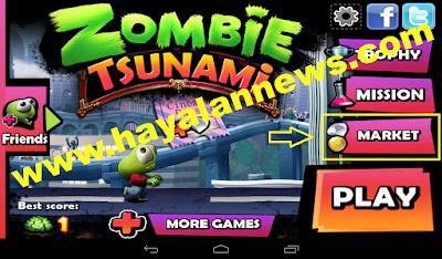 Baru dan gratis cara mendapatkan sachet of diamonds game zombie tsunami