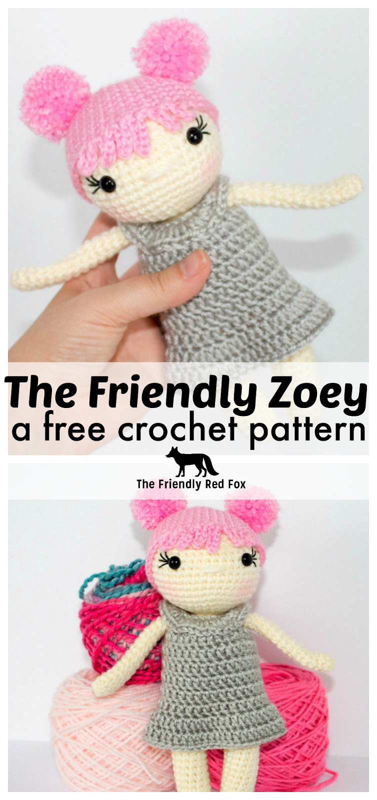 How to make small amigurumi hands with fingers: crafty_shanna ... | 1600x754