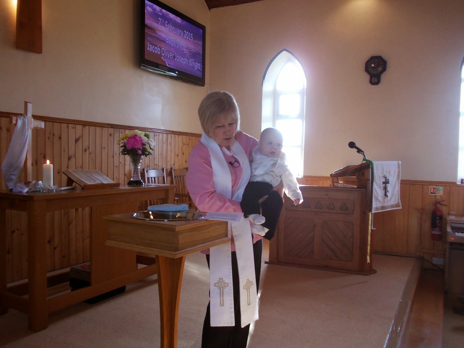 Jacobs christening