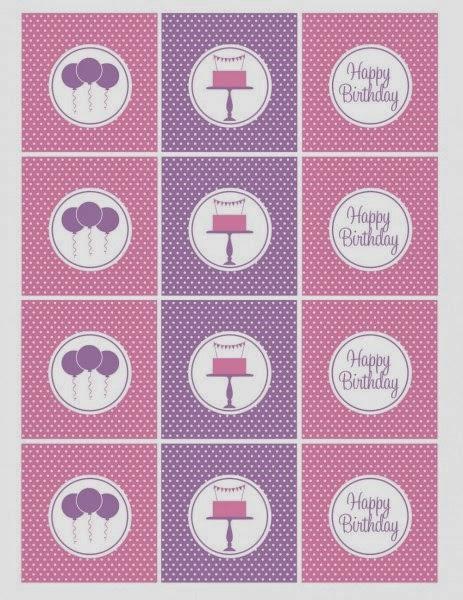 Pink and Lilac Free Printable Kit.
