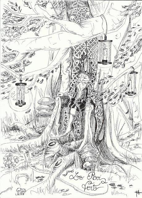 trône sylvestre