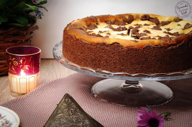 Zum Blogevent gibt es von KarambaKarina'Welt einen rusisschen Zupfkuchen.