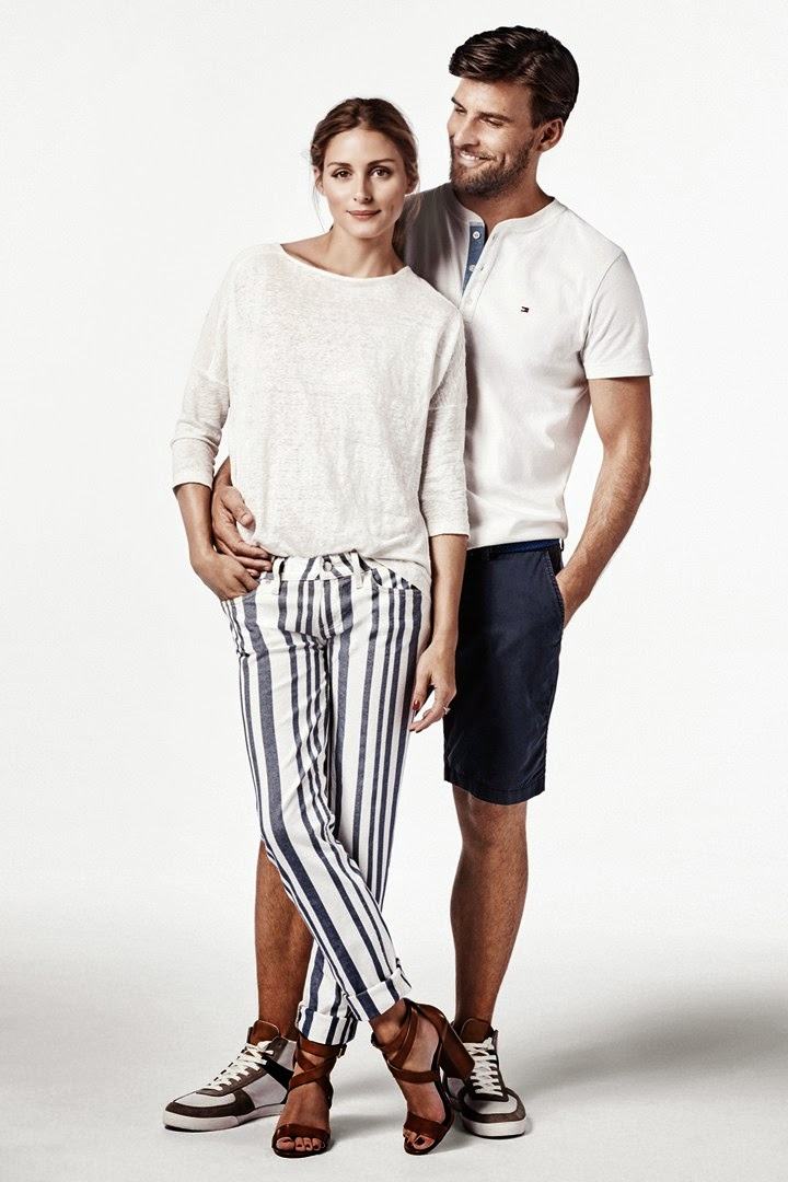 Olivia Palermo and Johannes Huebl For Tommy Hilfiger