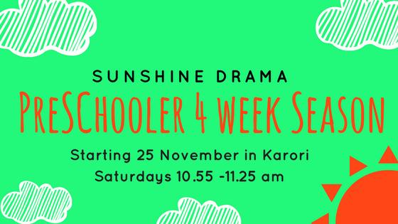 preschool drama classes wellington