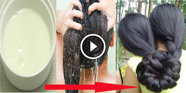 Amazing Overnight Recipe For Shiny, Healthy And Silky Long Hair
