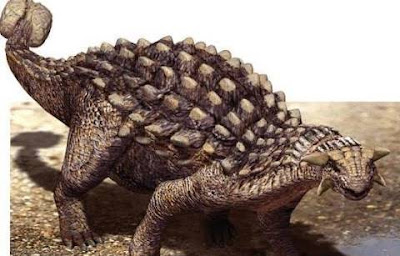 Nama-Nama Dinosaurus Ankylosaurus