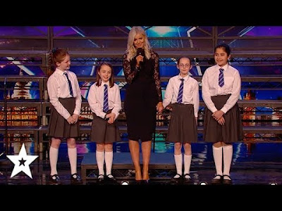 Watch School Choir Take on The Musical MATILDA on Britain's Got Talent