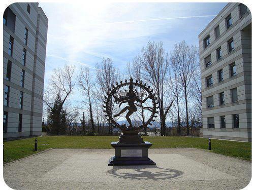 Natraj statue in Geneva