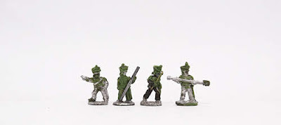 Horse Art - Horse artillery crew x 4: