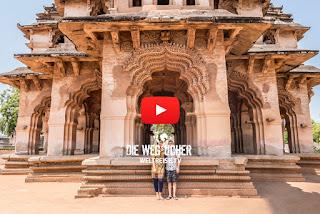 Weltreise durch Indien Hampi Arkadijs Weltreise WELTREISE.TV wunderschöne tempel