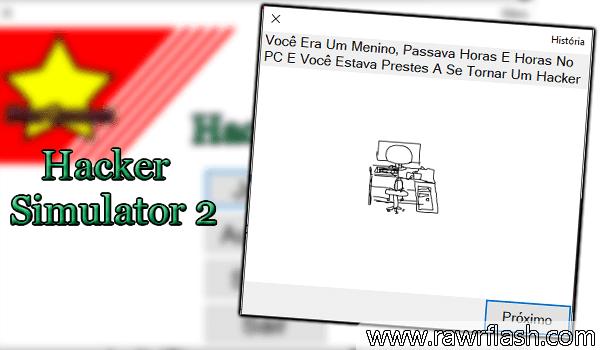 Jogo Tutorial Como ser um hacker, jogue agora HACKER SIMULATOR 2.