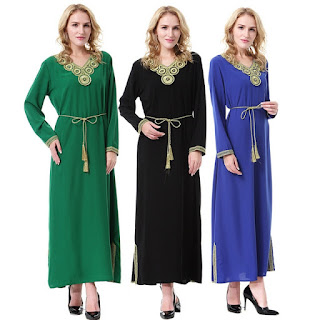 Baju Muslim Abaya Modis