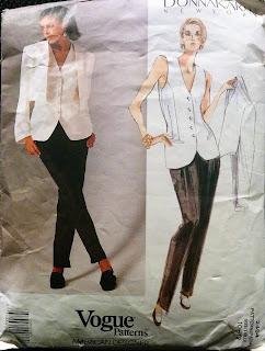 Creates Sew Slow: Donna Karan Vogue 2494